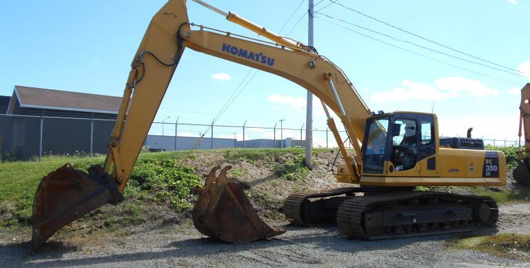 KOMATSU, PC350LC-8, 2011