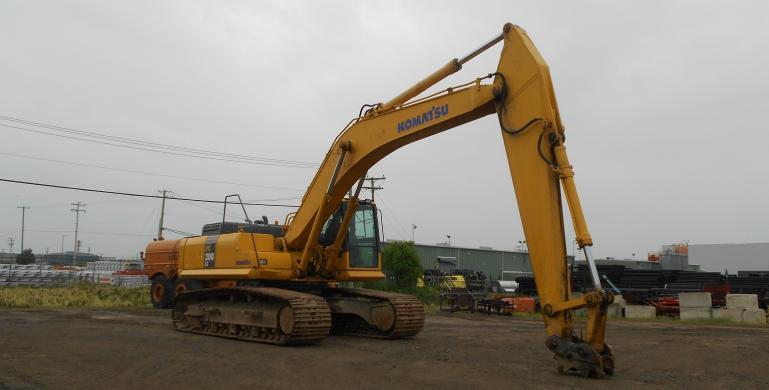 KOMATSU, PC300LC-7E0, 2006