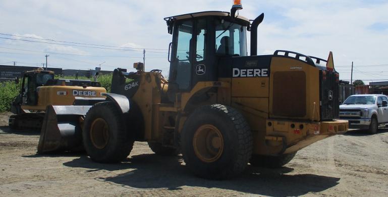 JOHN DEERE, 624K, 2009