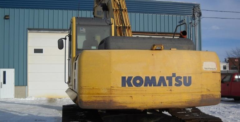 KOMATSU, PC200LC-8, 2009